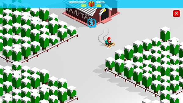 Screenshot Christmas Race