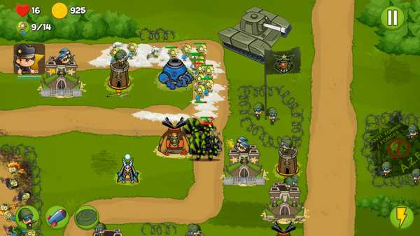 Screenshot Zombie Wars: Invasion