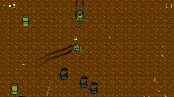 Screenshot FORCE TANKS