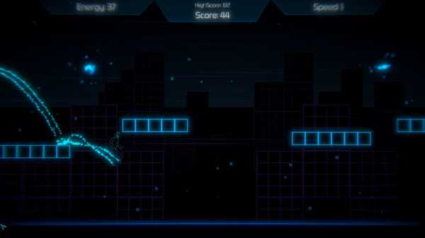 Screenshot Neon Void Runner