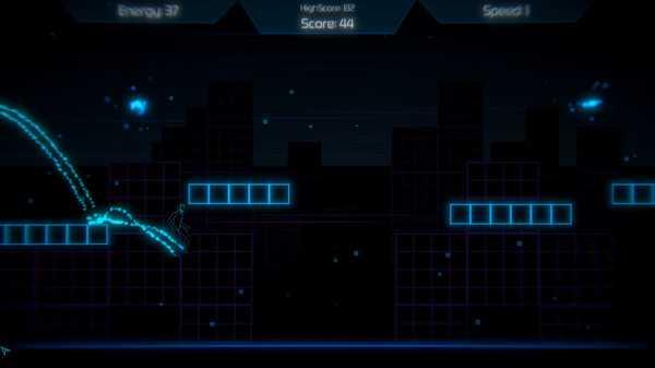 Screenshot Neon Void Runner