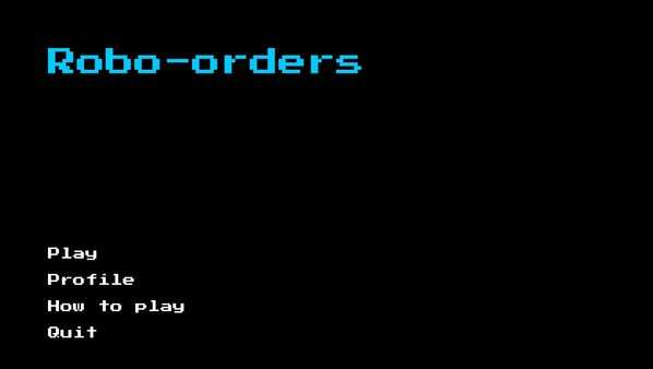 Screenshot Robo-orders