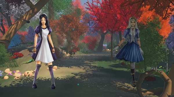 Screenshot Guard of Wonderland VR