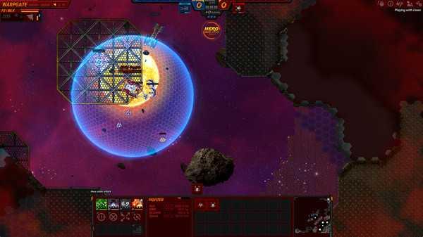 Screenshot Asteroid Fight