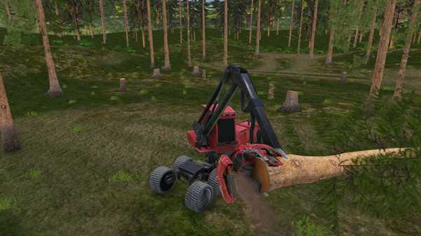 Screenshot Forest Harvester Simulator