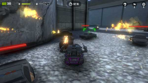 Screenshot desTRUCKtors: Warfare Showdown