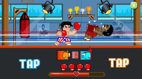 Screenshot Boxing Fighter : Super punch