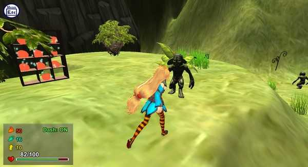 Screenshot Attack of the Gigant Zombie vs Unity chan