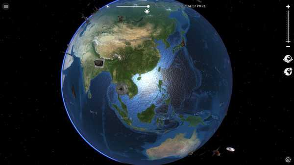Screenshot Globe Geography 3D
