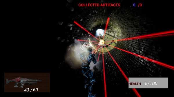 Screenshot Cyborg Invasion Shooter 2: Battle Of Earth