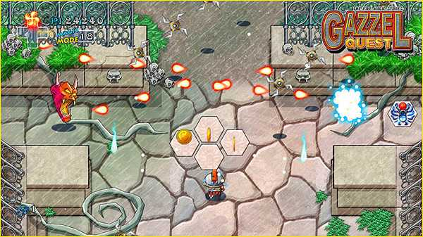 Screenshot Gazzel Quest, The Five Magic Stones