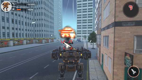 Screenshot Full Metal Renegade