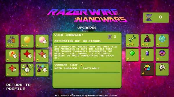 Screenshot Razerwire:Nanowars