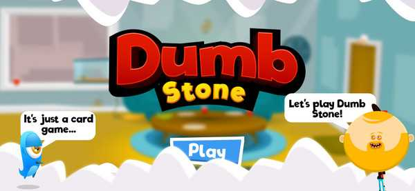 Screenshot Dumb Stone Card Game